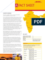 Exporting to India? DHL Fact Sheet