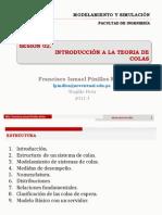 SESION 02-INTRODUCCIÓN A LA TEORIA DE COLAS