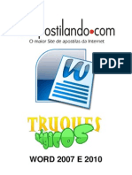 Word 2010 - Truques Mágicos