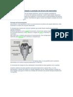Sensor HALL de rotação e posição da árvore de manivelas