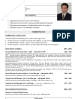 Resume Shavkat Rasuli - in English
