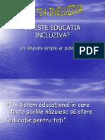 Ce Este Educatia Incluziva