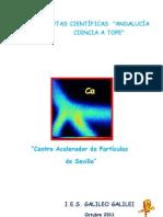 CENTRO ACELERADOR DE PARTÍCULAS