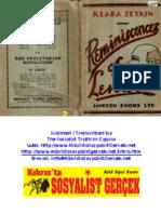 Zetkin - Reminiscences of Lenin