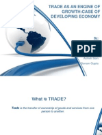 Trade as an Engine for Growth-Developing Economies