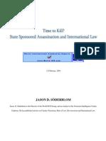 On Assassination in International Law