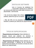 TIPOS DE REQUERIMIENTOS