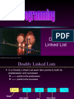 Linked List Doubly