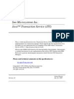 Java™ Transaction Service (JTS)