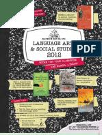 2012 Language Arts & Social Studies Catalog