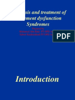 Diagnosis & Treatment of Movement Dysfunction Syndroms 1