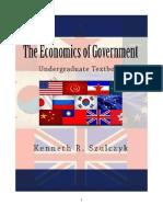 The Economics of Government