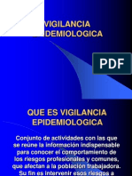 Que Es Vigil an CIA Epidemiologica