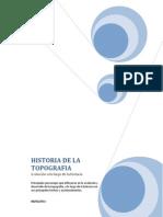 Historia de La Topografia