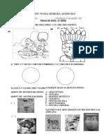 PROVA DE ARTE 5º ANO-1 TRIMESTRE