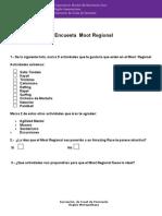 Encuesta MOOT Region Metropolitana