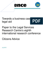 Toward a Business Case for Legal Aid