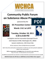 NWCHCA Meetng Flyer 10182011