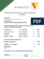 Preisliste Vereinsh. Oktober 03 Mitgl.