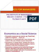 Economics For Managers - Session 01