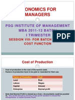 Economics For Managers - Session 08