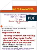 Economics For Managers - Session 10