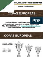 Catalogo Copas Victoria 2001