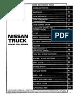 FWD - Nissan Pickup D21 1997