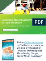 Leveraging Inbound Marketing for Lead Generation