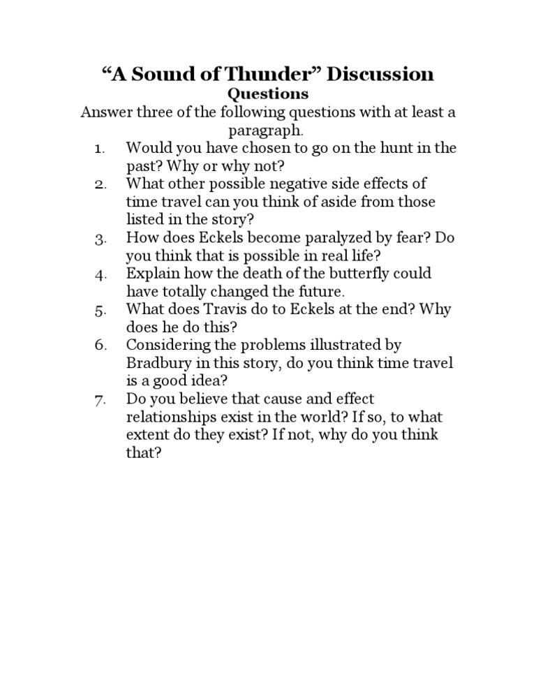 Literary essay - theme discussion?