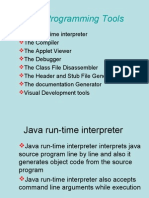 Java Programming Tools