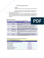 FAC PPM Competency Model
