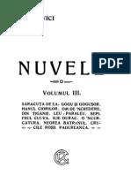 Ioan Slavici - Nuvele, Vol. 3