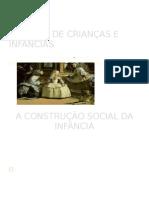 SLIDES HISTÓRIA DE CRIANÇAS E INFÂNCIAS(1)