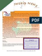 Oct 18, 2011 Fellowship News
