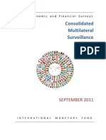 IMF World Economic and Financial Surveys  Consolidated Multilateral Surveillance Report Sept 2011