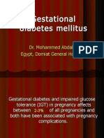 Gestational Diabetes 01