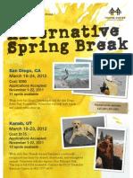 Alternative Spring Break 2012