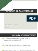 Anatomia de Uma Interface
