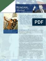 Ronald Reagan, un legado de libertad
