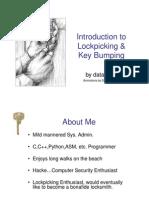 Intro to Lockpicking and Key Bumping WW