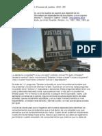 Filosofía y Plan de Acción- El verano de Justicia - 2012 - DC