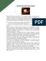 Biografia de Pedro Pablo Rubens