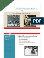 Political Transformation Part 2 Ht 2011
