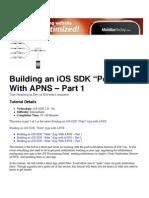 """Building an iOS SDK """"Poke"""" App With APNS – Part 1"""