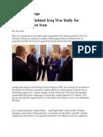 18-10-11 U.S. Hawks Behind Iraq War Rally for Strikes Against Iran