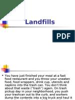 Landfills powerpoint