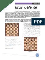 An unusual defense