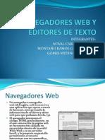 Nave Gad Ores Web y Editores de Texto