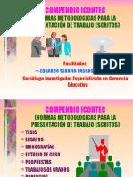 ICONTEC- Normas Técnicas Trabajos Escritos- Presentación